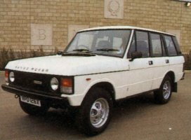 Early 1980's Range Rover 5 door